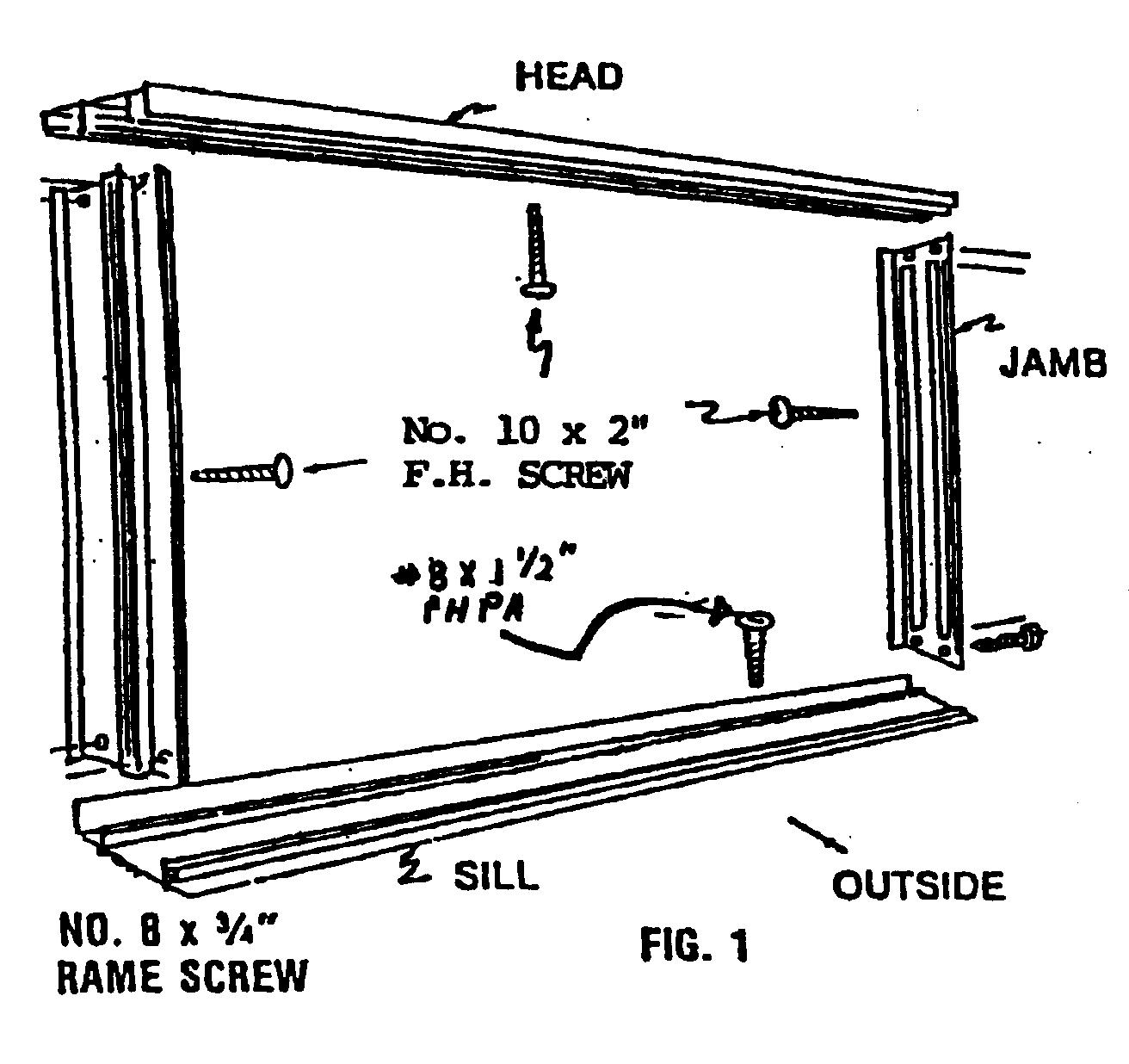 Installation Instructions Columbia Windows
