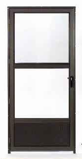 Tiara Aluminum Storm Doors Columbia Windows