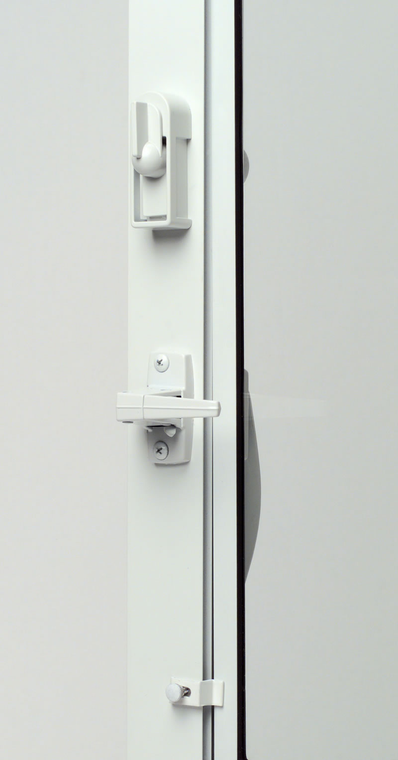 handle hardware storm door detail half