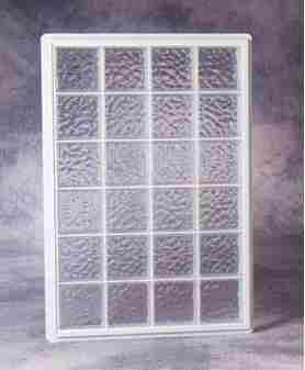 Hy Lite 600 Amp 800 Series Fixed Aluminum Glass Block Window