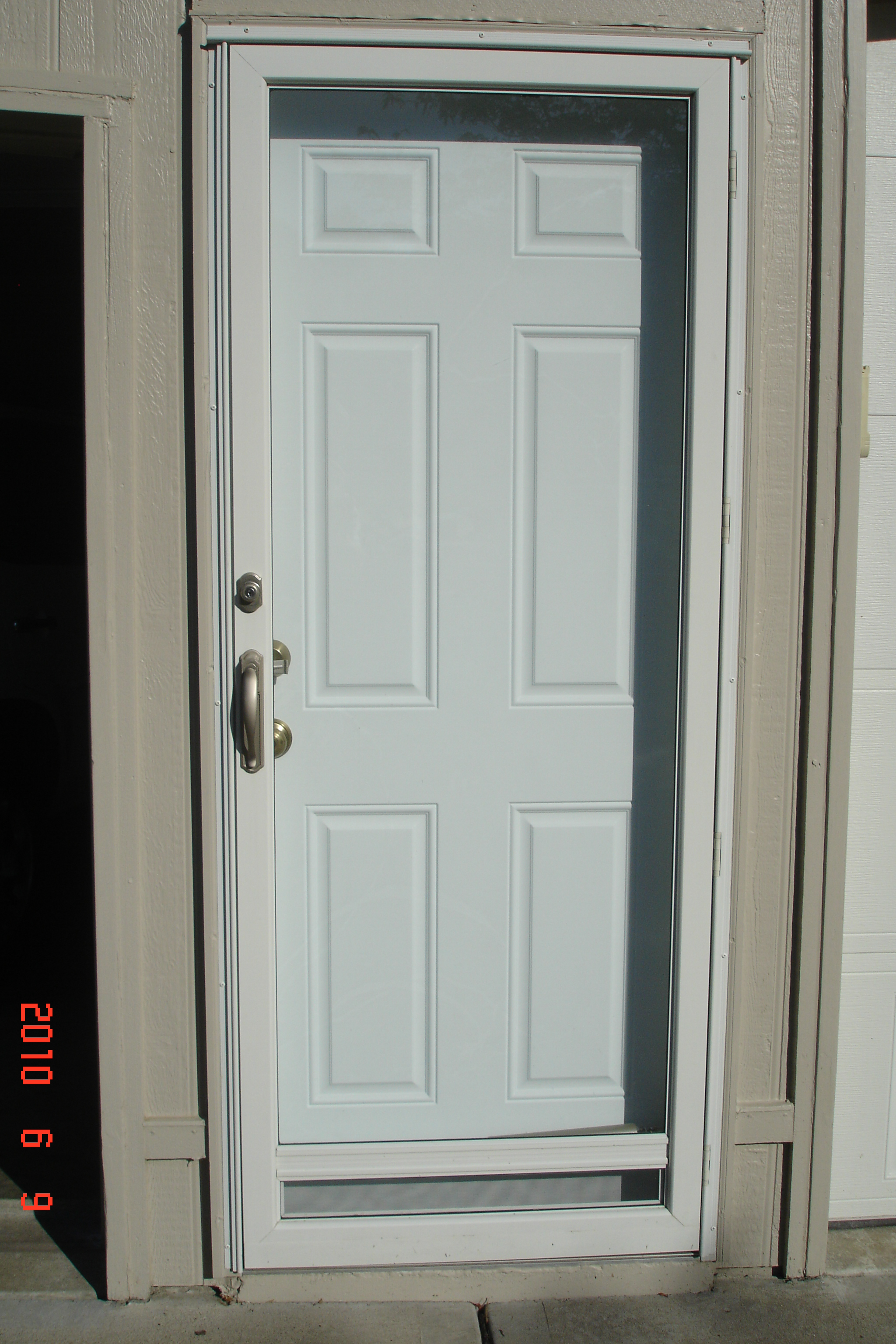 Custom aluminum storm doors columbia glass windows king one lite aluminum storm doors eventelaan Gallery